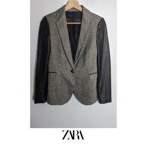 3 for $20 - Zara | Tweed jacket (flawed)